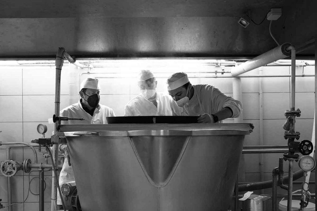 Laboratorio produzione tartufi